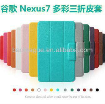 For google Nexus 7 PU leather Case