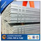 ST33 Square GI steel pipe/tube