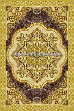 Vivid design Porcelain InkJet Printing purple marble Polished Golden Rectangle 120X180cm carpet tile