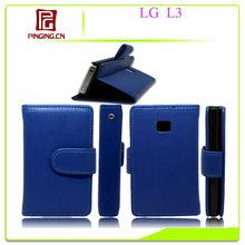 2013 !case for LG Optimus L3 leather case fashion design cellphone case wallet case