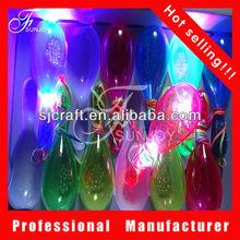 led flashing light up maracas,flashing led maraca
