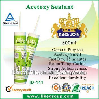 Concrete joints acetic silicone sealant