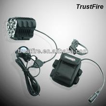 TrustFire New Desire TR-D010 8.4v front light for bike 5*Cree T6 LED led helmet flashlight 2800LM led light for bike