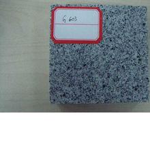 Chinese grey granite g603 chiselled,flamed,grooved,sandblasted,mushroom granite titles/stones/slabs