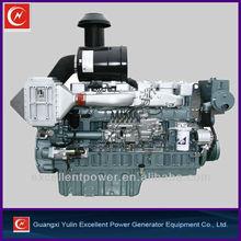 Yuchai 390hp 6 cylinder marine diesel engine