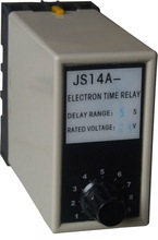 JS14-60 AC 220 power on electrical adjustable time delay relay