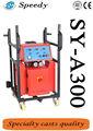 Sy-a300 poliuretano de alta pressão de espuma esteira