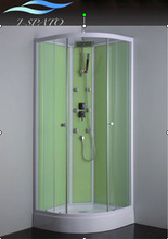 Hot Simple and Elegant Corner Standing Shower Bathroom with ISO9001