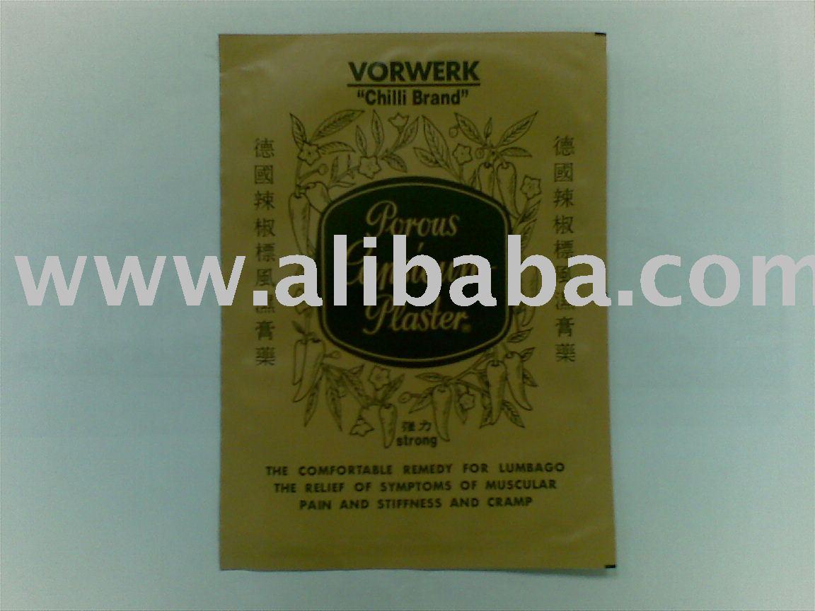 Chilli Brand Porous Capsicum Plaster