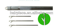 ventilating wig needle,lace wig needle,wig making needle