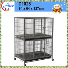 spuare tube welded wire dog kennels