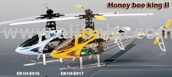 Esky Honey Bee King 2 6ch Radio Remote Control Rc Helicopter Ek1h-E016 / 017