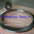 Personalizado grande spiral bevel engrenagens