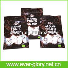 FDA Grade Cookies Foil Stand Up Plastic Zip Lock Bags