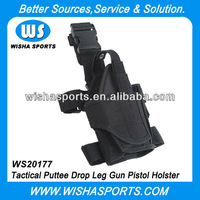 Tactical Puttee Drop Leg Gun Pistol Holster