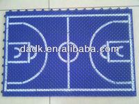 Anti-skid PP sport floor for basketball court