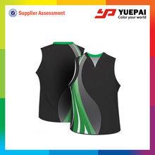 Custom team sublimated basketball uniforms basketball tops