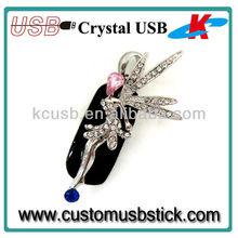 Classical design spirit shaped usb stick metal 2.0 16GB