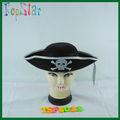 Plata sombrero sombrero de no- tejido material de hacer un sombrero de pirata