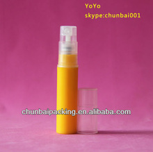 plastic bottle /plastic perfume spray pen/tube 5ML