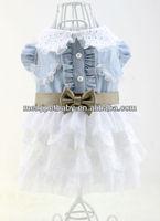 Latest and korea design dog dress/pet clothes