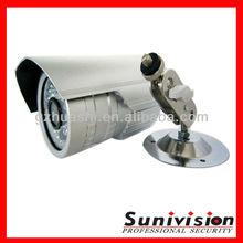 0 Lux weatherproof bullet 1/3 sony ccd 540tvl ir waterproof cctv camera