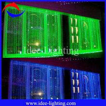hot sale DIY LED Sparkle twinkle fiber optic curtain