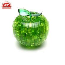 Garden solar light up apple,acryl apple,decorative apples