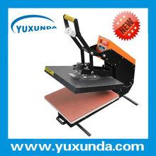 Best quality draw automatic open T-shirt printing heat press machine