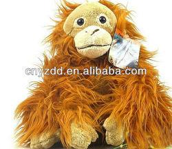 peluches of monkeys/ape toy/custom monkey animal toy