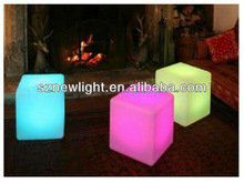 alibaba express shenzhen led LED table and chair high tech home decoration product