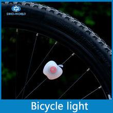 Blinking bicycle wheel light battery operated bike decoration