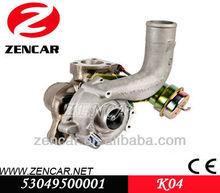 Substituição KKK turbo K04 para Seat IBIZA atualizado com FT 190 4EB / 4EA / 4EC motor