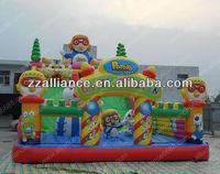 Pororo crazy penguin inflatable slide 12x7m large funcity