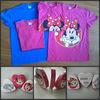 fashion custom shape compressed t-shirt/mickey printed magic t-shirt