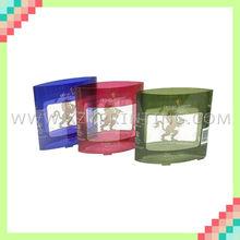 Series fashionable folded printing packing plastic box
