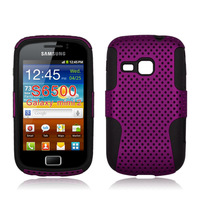 mesh hybrid case for Samsung galaxy mini 2 S6500