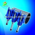 Zr-1 de hierro dúctil( de hierro fundido) abrazaderas de reparación, las fugas de tuberías rápido sellado abrazaderas de reparación, tubería de hierro dúctil de la abrazadera de reparación