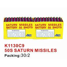 50s saturn missiles fireworks K1130C9 Missiles