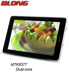 """7""""MTK8377 Tablet PC 3G GPS Bluetooth Dual SIM Card no brand android phones"""