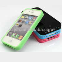 High quality cheapest OEM silicone phone case for iphone 5