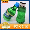 Plastic sales promotion bottle usb pendrive 4gb