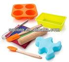 Silicone cake baking tools