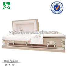 JS-ST624 funeral coffin and casket costs