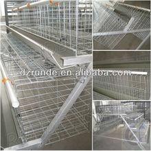 granja de codornices jaula de la capa de comerciales de la batería para la jaula de pollo pollitas de producción