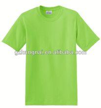 women blank v-neck t shirt in summer