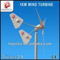 1kw família gerador de turbina eólica( em- grade)