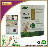 2013 new 100% natural perfume vinegar foot patch detox /original jun gong foot patch