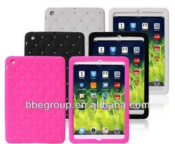 Tablets & e-Books Case Flexible Tablet Silicone Case Cover for iPad mini / mini 2 Retina