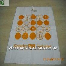high quality biodegradable die cut shopping bag